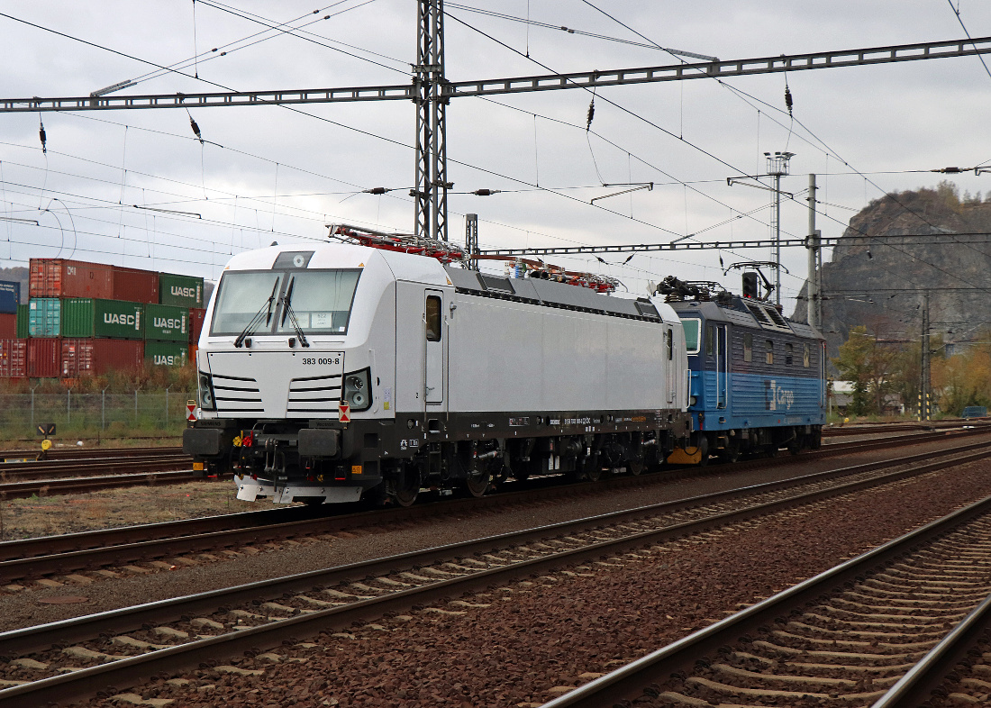 Fleet of locomotives series 383 will soon be expanded with engine No. 009
