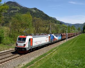 The TRAXX locomotive on test runs in Austria