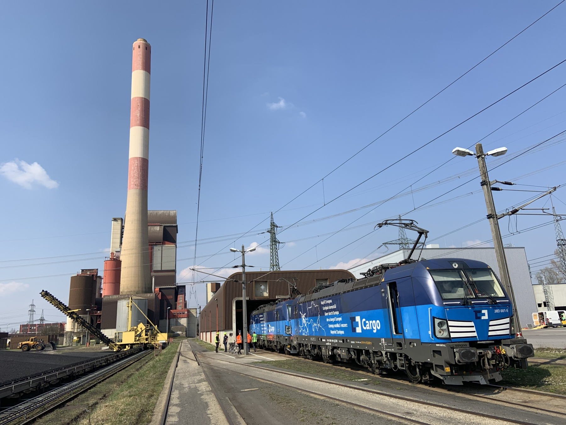 We took over the supply of the Werndorf power plant