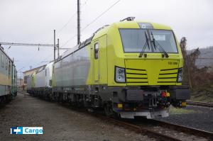 Locomotives for foreign activities of ČD Cargo